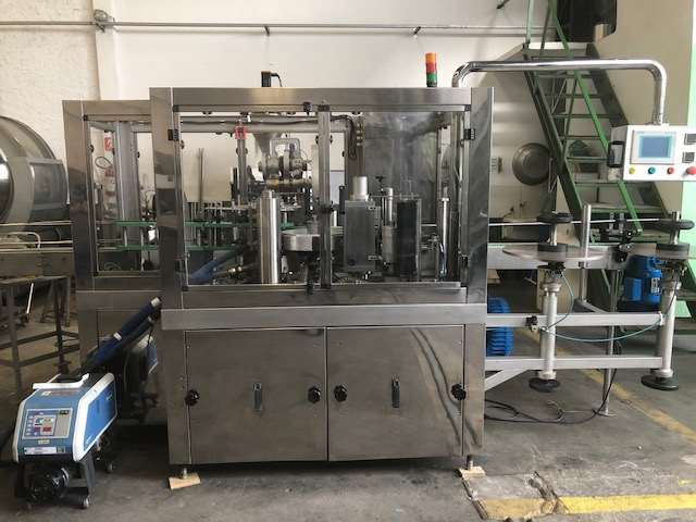 Maquina Rotuladora para Rotulo BOPP para Frasco Cilindrico