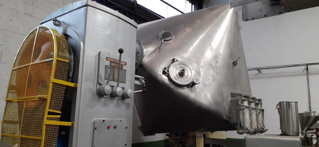 Misturador para pó Duplo Cone 4.000 litros